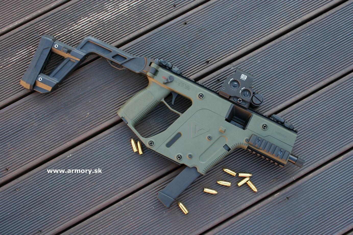 KRISS Vector SDP - pištoľ 9x19, 9x21, 10 mm,  357,  40,  45